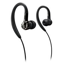 Į ausis įdedamos ausinės