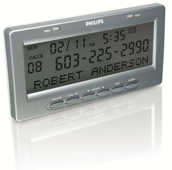 Extra-large Caller ID Display