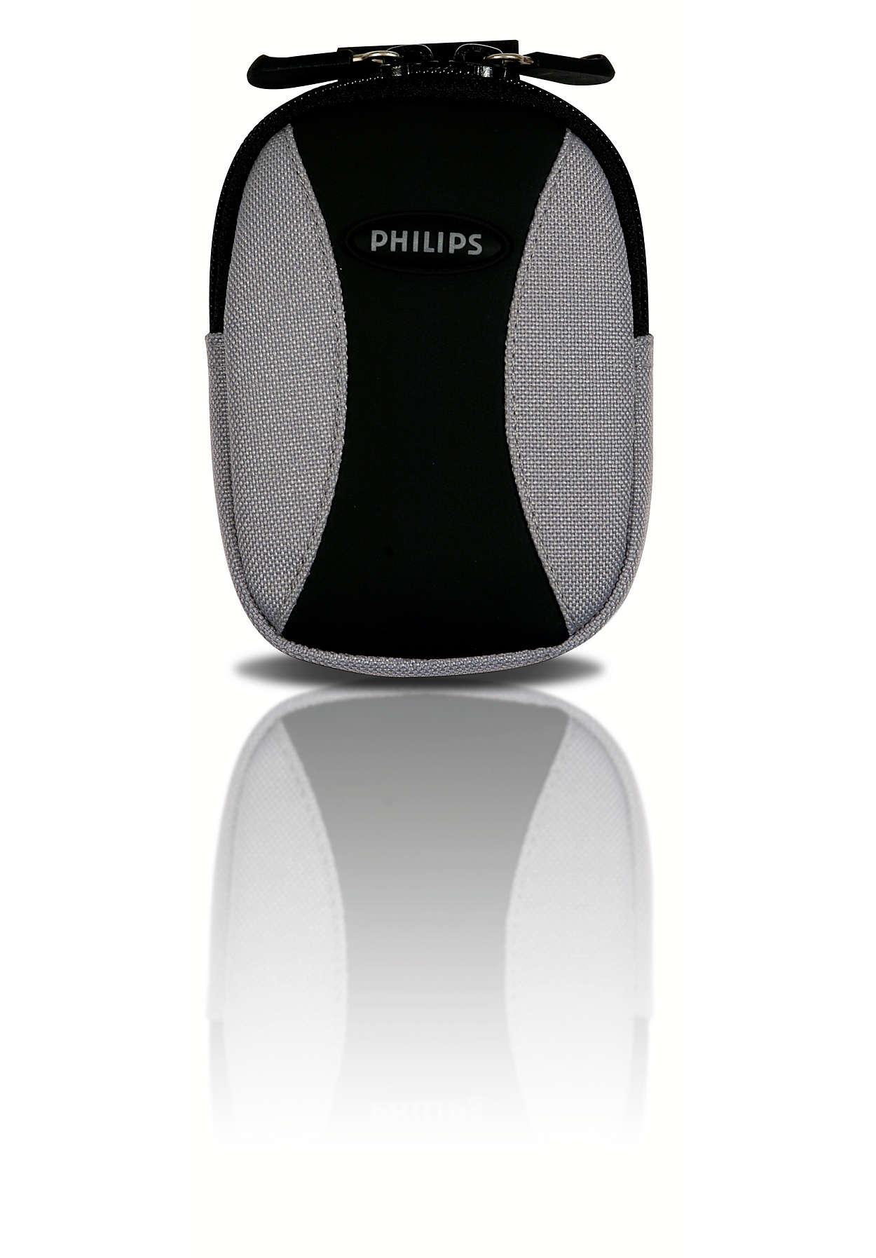 Uw MP3-speler meenemen en beschermen