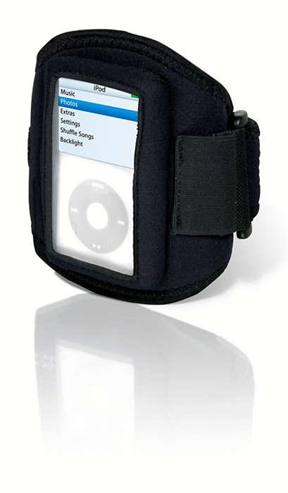 Pidä MP3-soitin mukana treeneissä