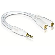 SJM2115/10 -    Kopfhörer-Zweifachverteiler