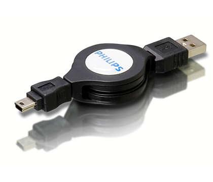 Conecta dispositivos Firewire al ordenador