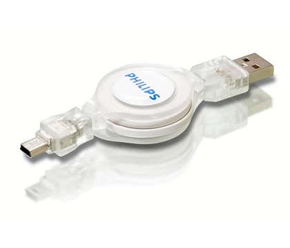 Koble USB-enheter til datamaskinen