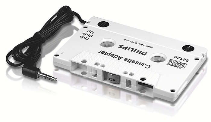 Transmit your music to any cassette deck