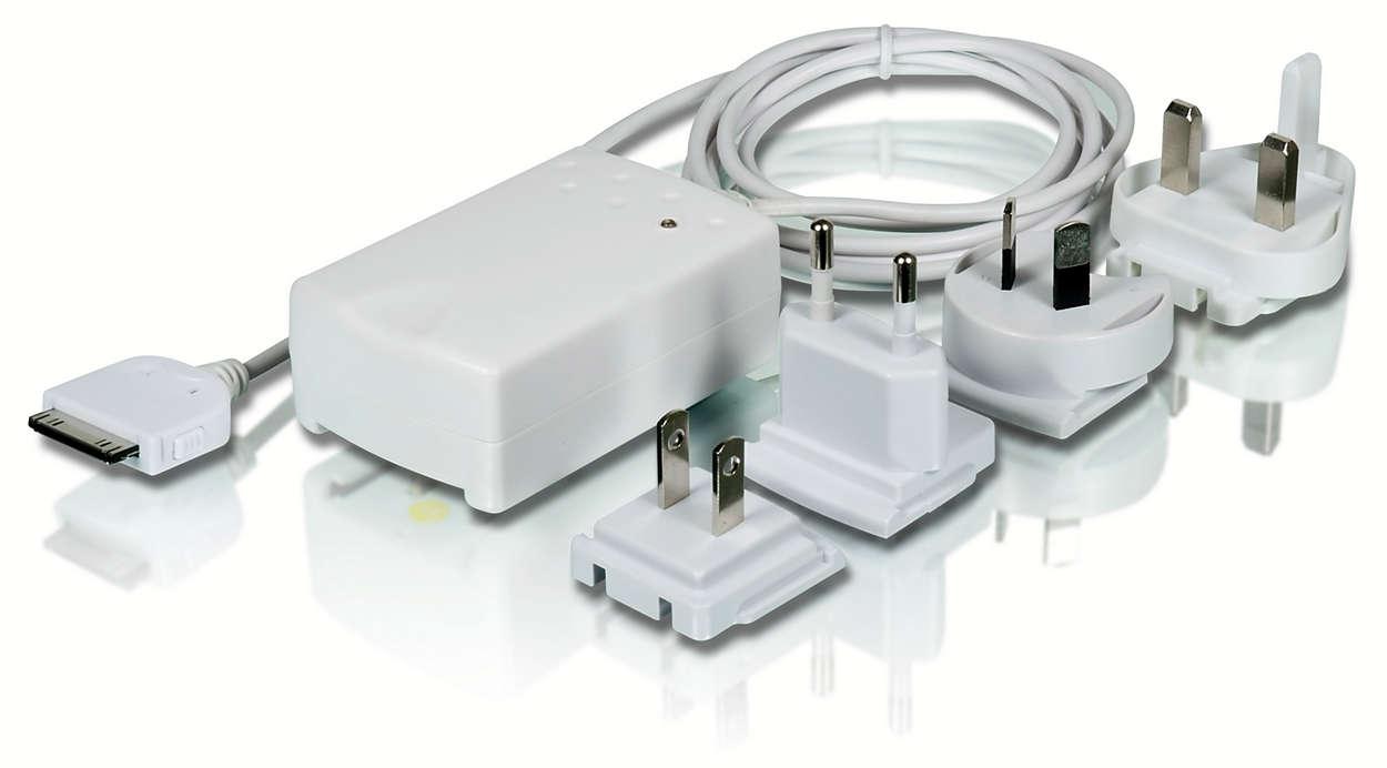 Chargez votre iPod