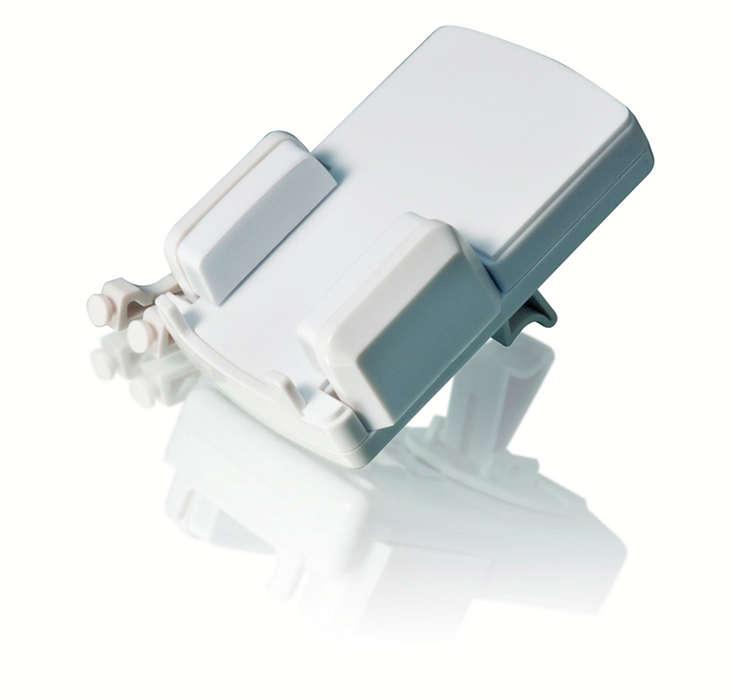 Zařízení iPod připevněte kventilačním otvorům na palubní desce