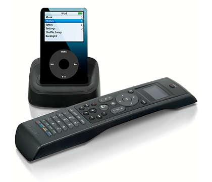 Visualize o iPod à distância