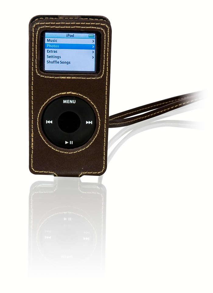 Stylowa ochrona odtwarzacza iPod Nano