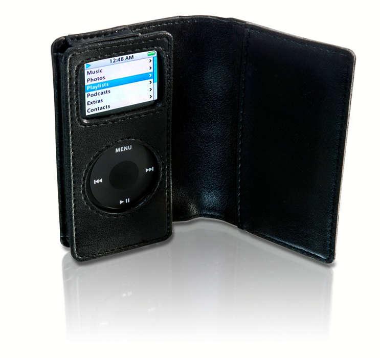Stilig beskyttelse for iPod Nano