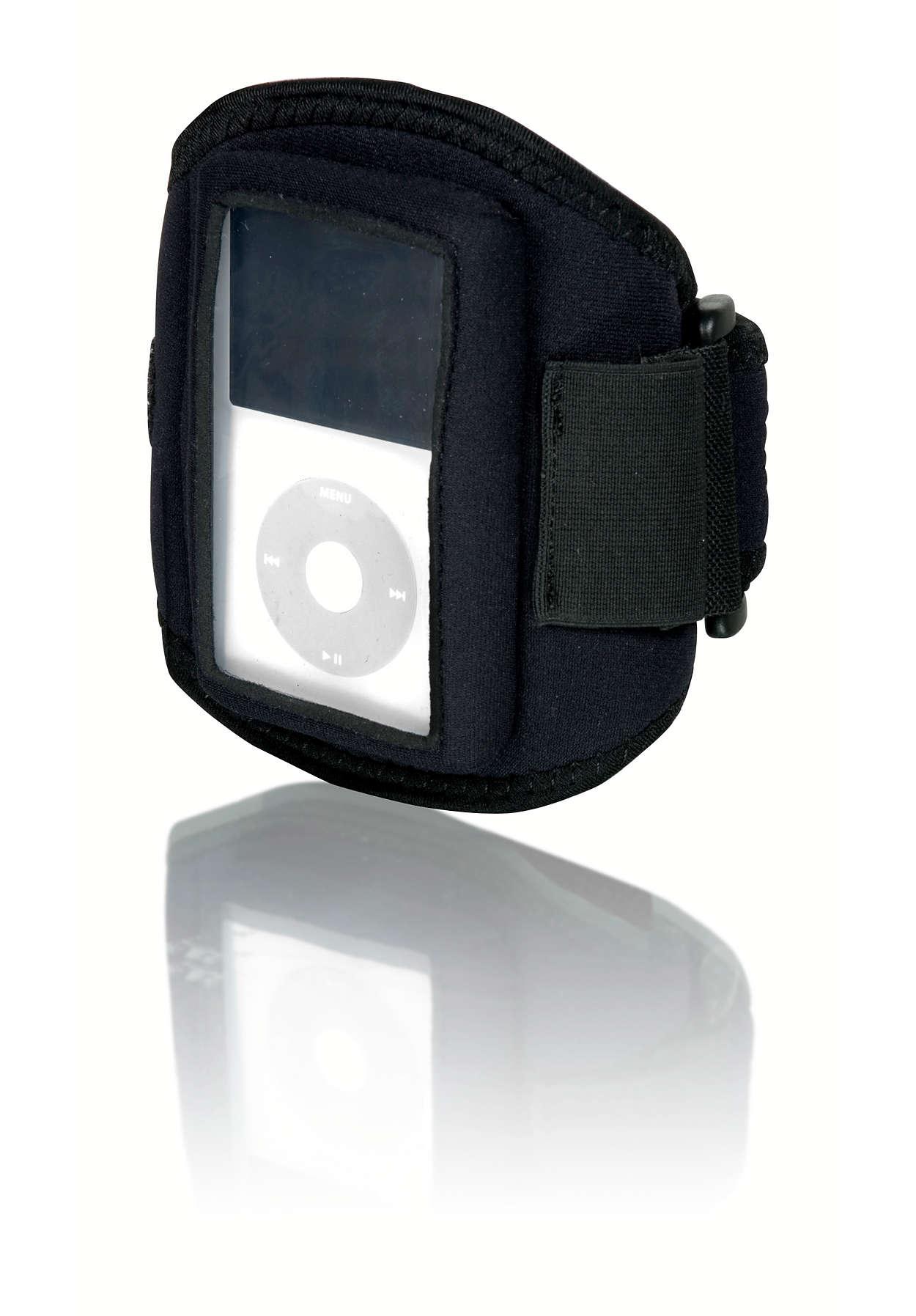 Treenaa iPod videon kanssa