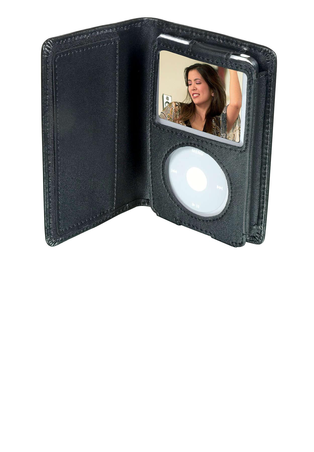 Protege tu video iPod con estilo