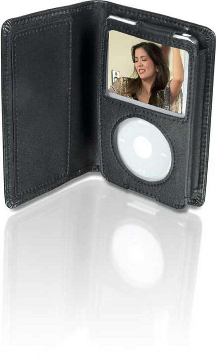 Stylowa ochrona odtwarzacza iPod Video