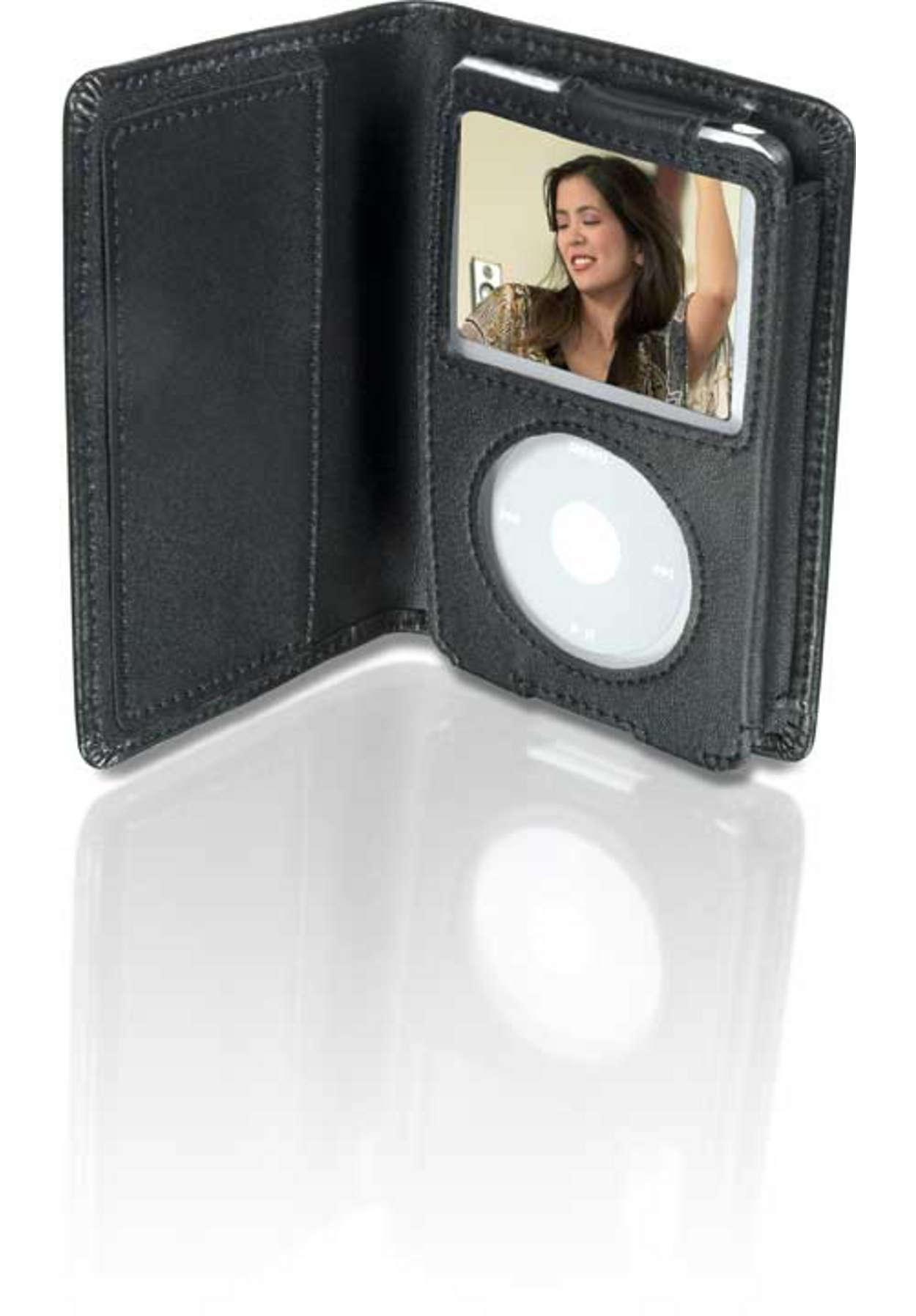 Proteja o seu iPod Video com estilo