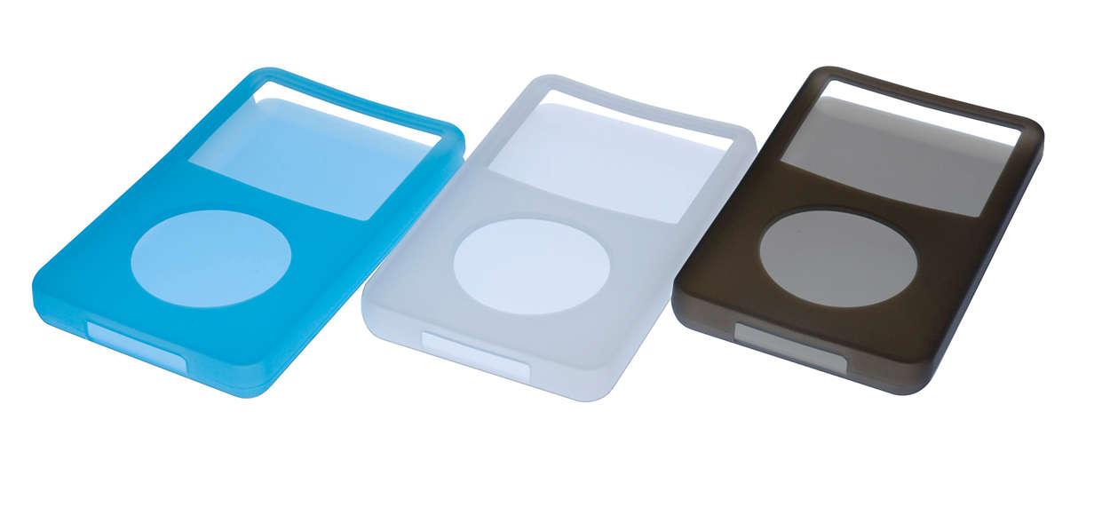 Az iPod tárolásához, védelméhez és szállításához