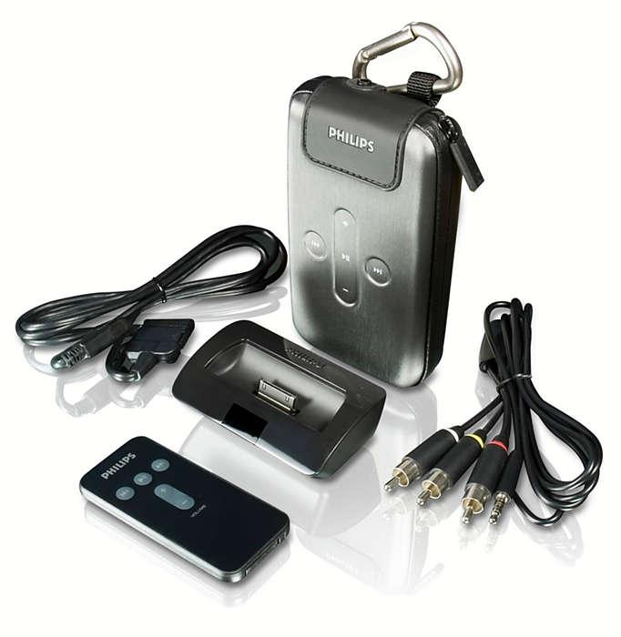 Alles wat u nodig hebt voor uw digitale audiospeler