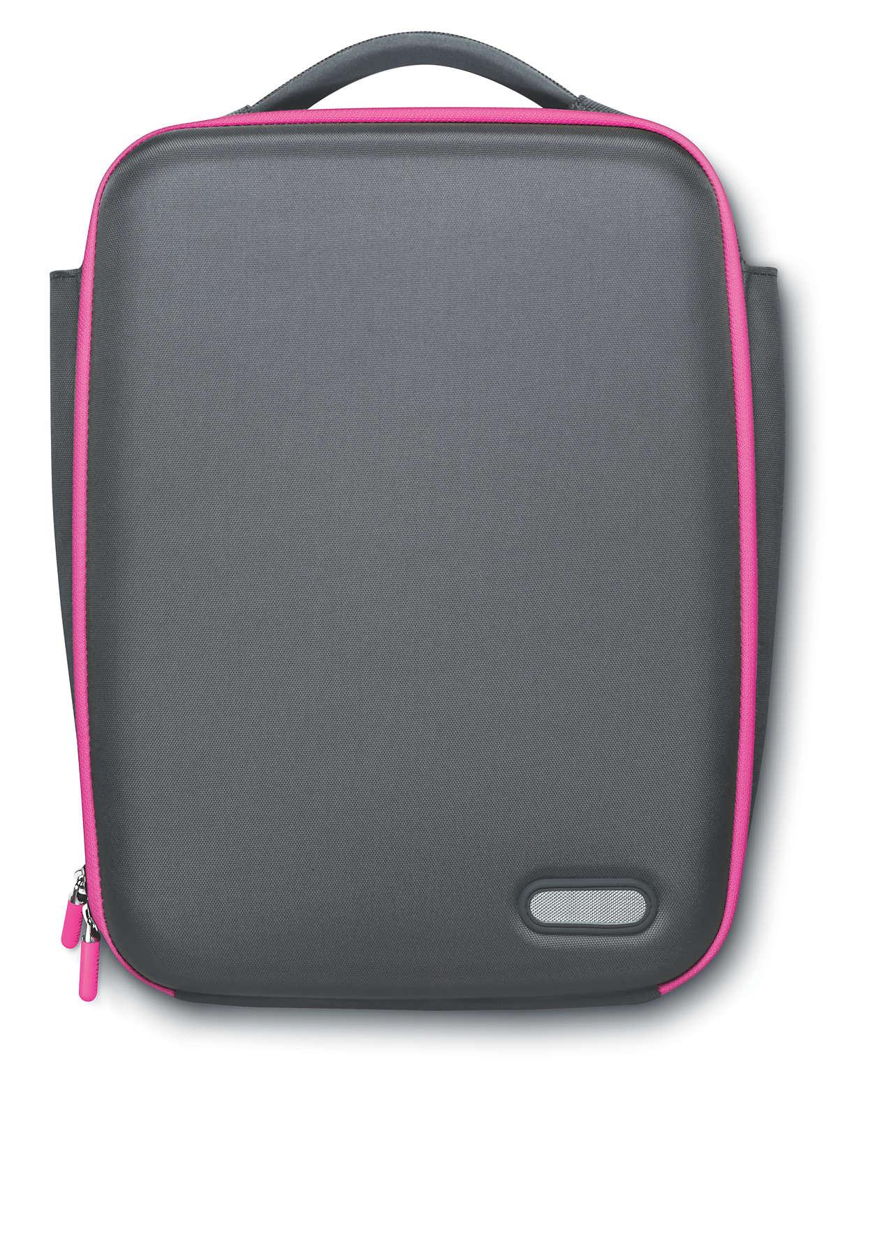 sacoche pour mini ordinateur portable sle5100pn 10 philips. Black Bedroom Furniture Sets. Home Design Ideas