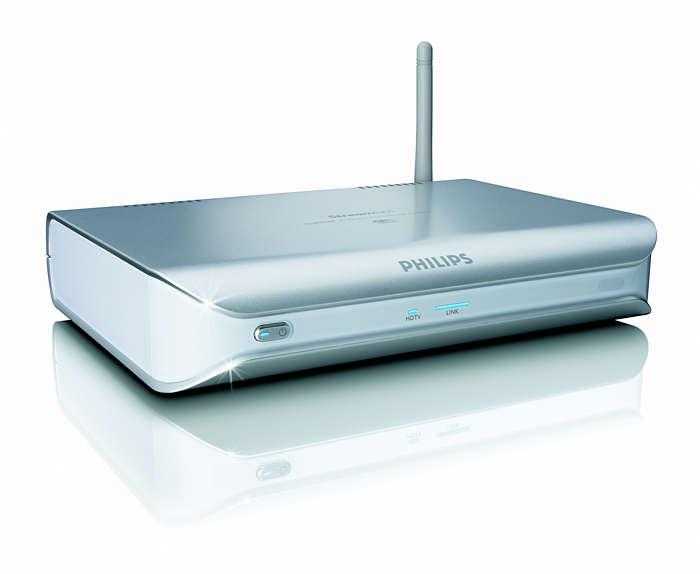 Reproduce películas de PC en el televisor sin necesidad de cables