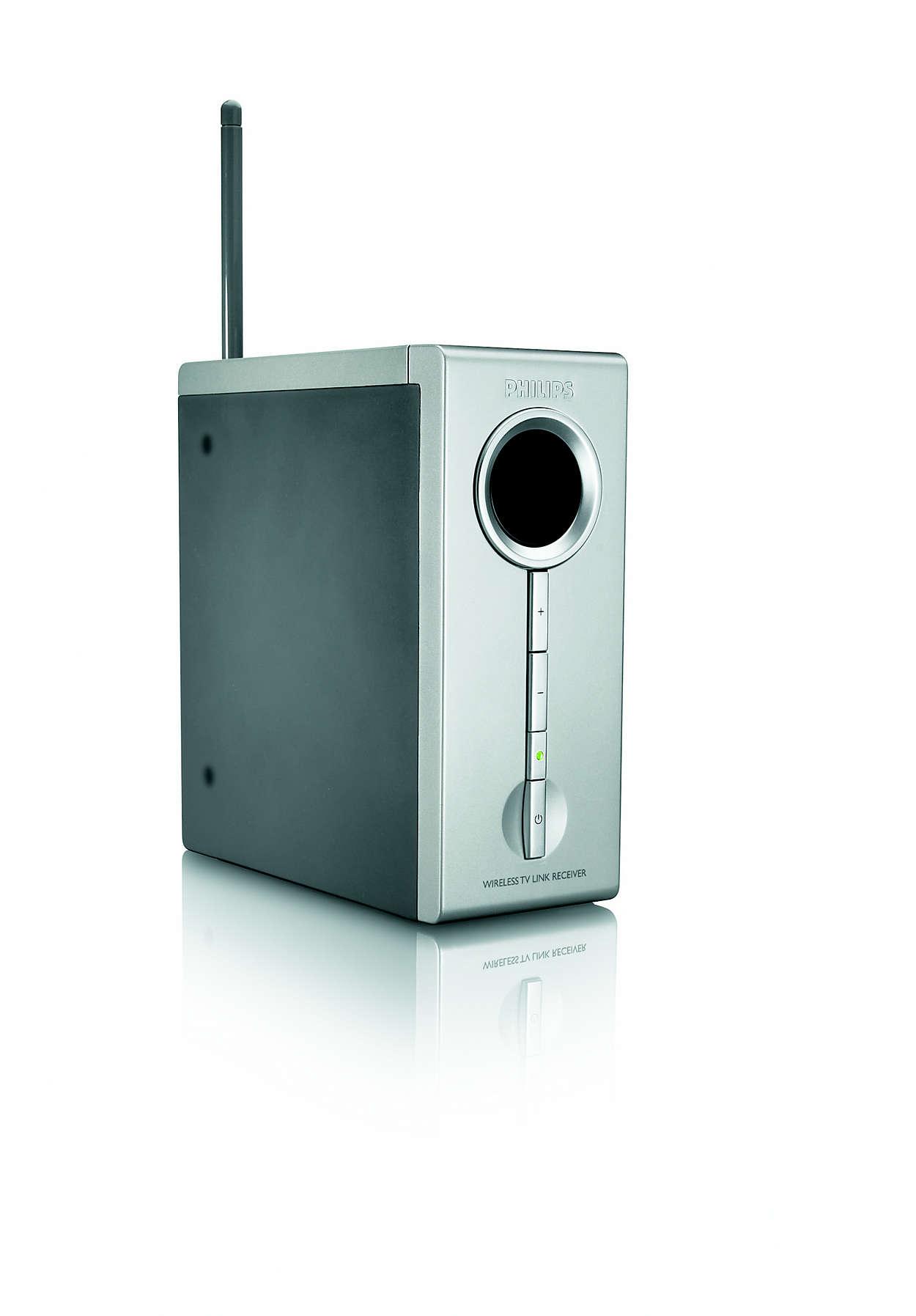 Additional TV link receiver SLV5405/05 | Philips