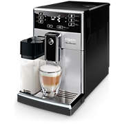 Saeco PicoBaristo Super-automatic espresso machine SM3054/10 11 Beverages Integrated milk carafe Silver AquaClean