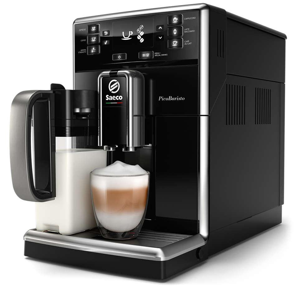 Udsøgt kaffe, nem at fremstille til din smag