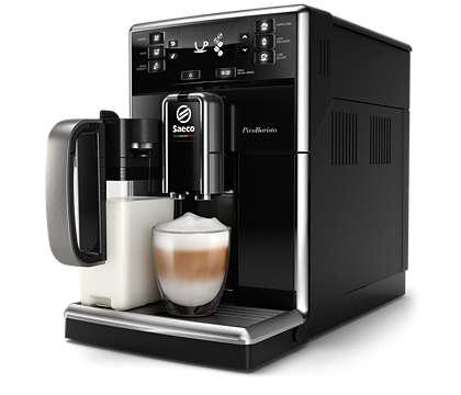 Utsökt kaffe, enkelt tillverkat efter din egen smak
