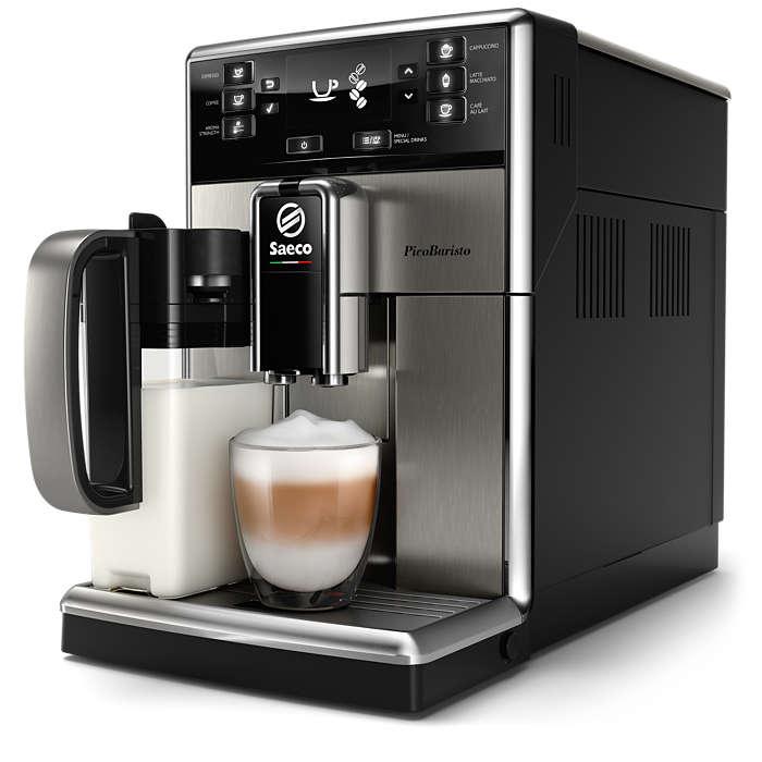 Café excelente, facilmente adaptado ao seu paladar
