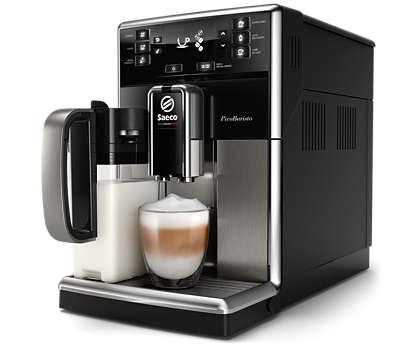 Café exquisito, elaborado fácilmente a tu gusto