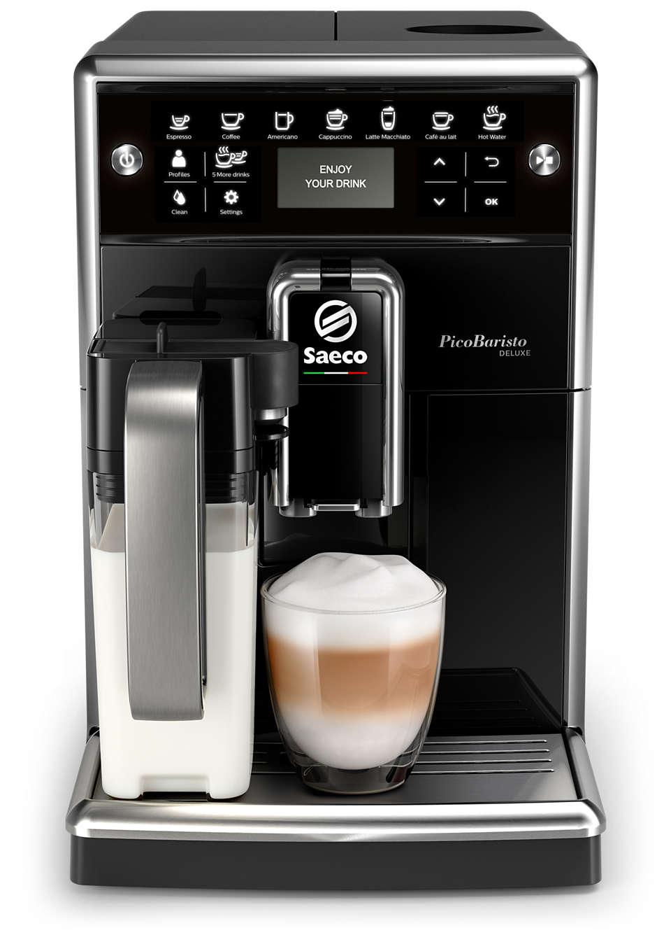 Niewielki ekspres do kawy dostosowany do Twoich preferencji