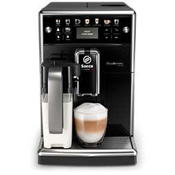 Saeco PicoBaristo Deluxe Automatický kávovar s nádobou na mléko