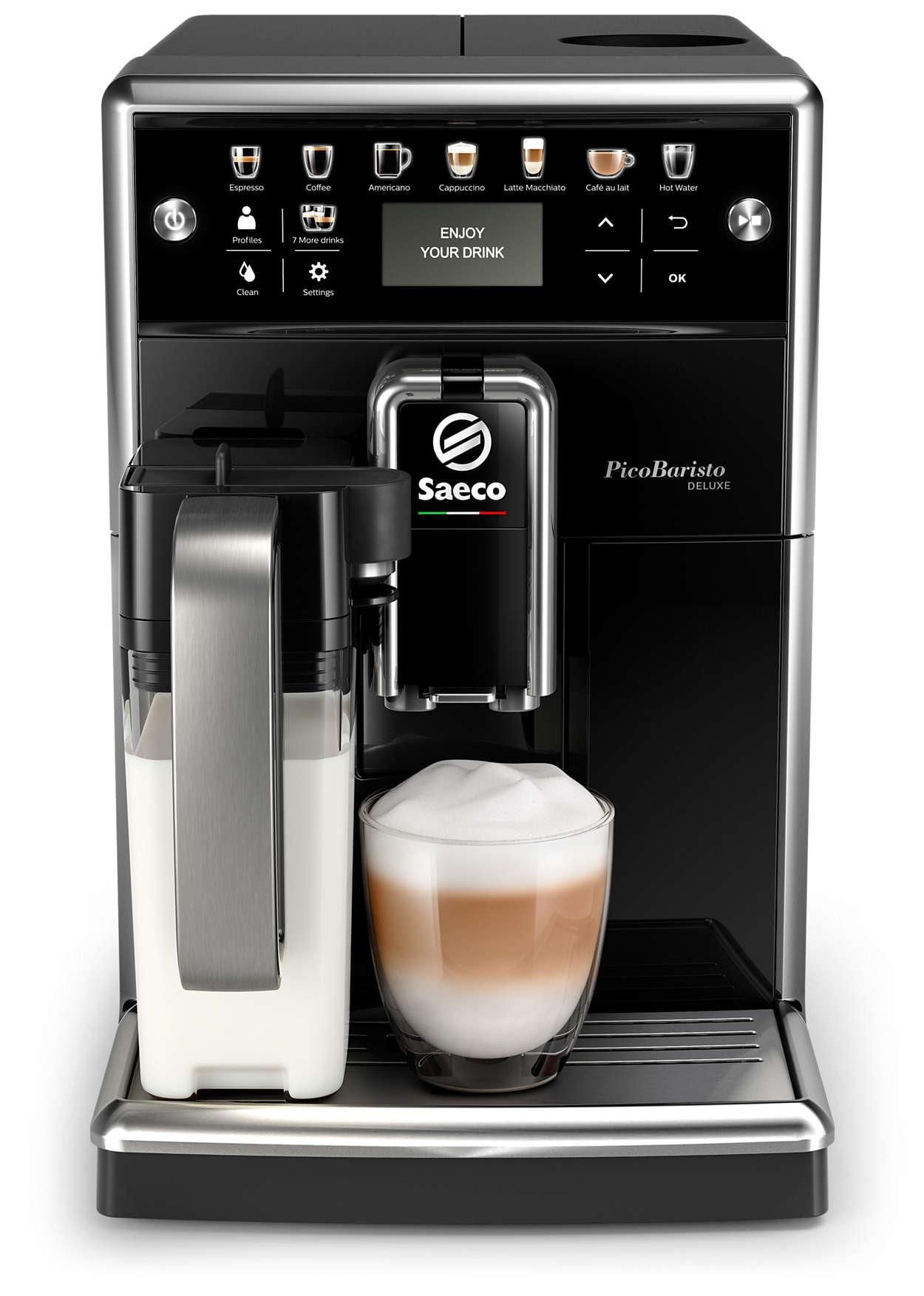 7b9fdb1ce81 PicoBaristo Deluxe Täisautomaatne espressomasin SM5570/10   Saeco