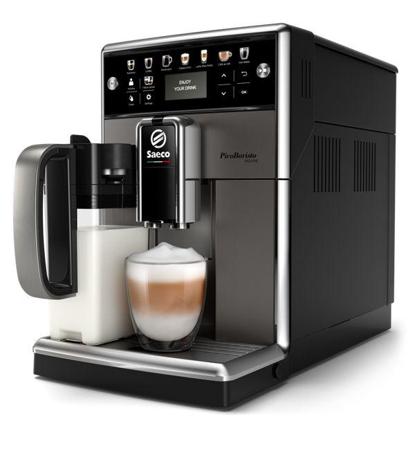 Philips SM5572/10 PicoBaristo Deluxe Automatický kávovar s nádobou na mléko
