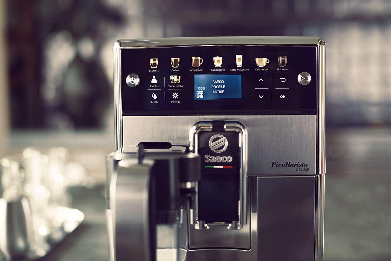 Saeco PicoBaristo Deluxe automatikus kávégép   Philips