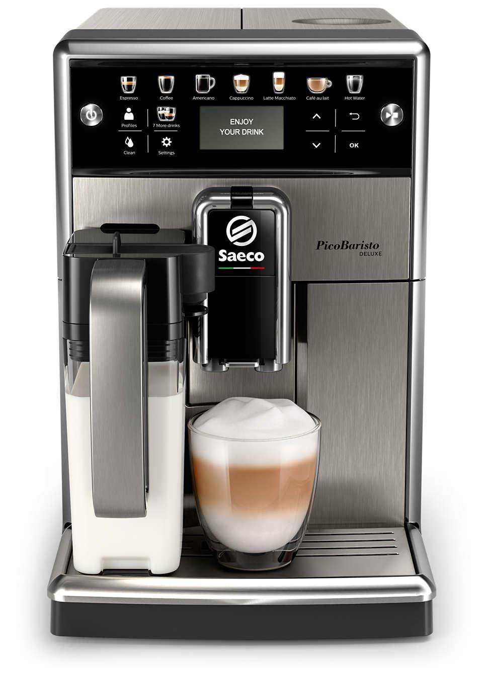 Изтънчено кафе, приготвено точно според вкуса ви