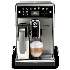 SM5573/10 Saeco PicoBaristo Deluxe Machine expresso à café grains avec broyeur