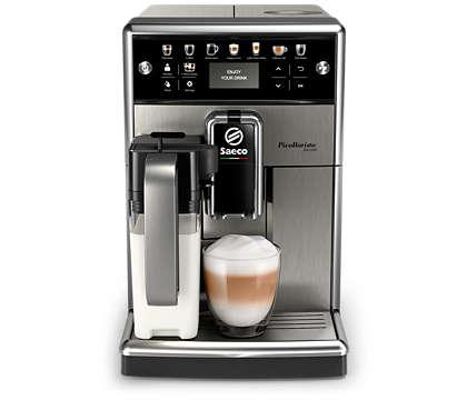 Heerlijke koffie, eenvoudig aangepast aan uw smaak