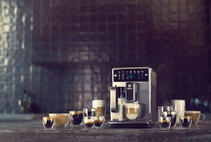 Cafetiere expresso broyeur - Saeco PicoBaristo Deluxe SM5573/10