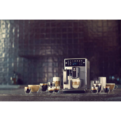 PicoBaristo Deluxe Cafetera espresso súper automática