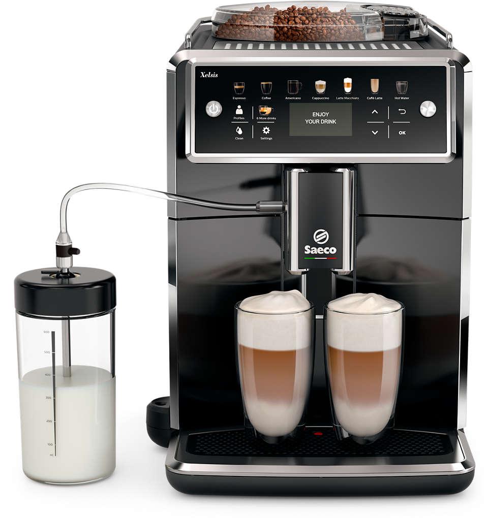A máquina de café expresso Saeco mais avançada de sempre