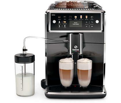Самая технологичная кофемашина Saeco