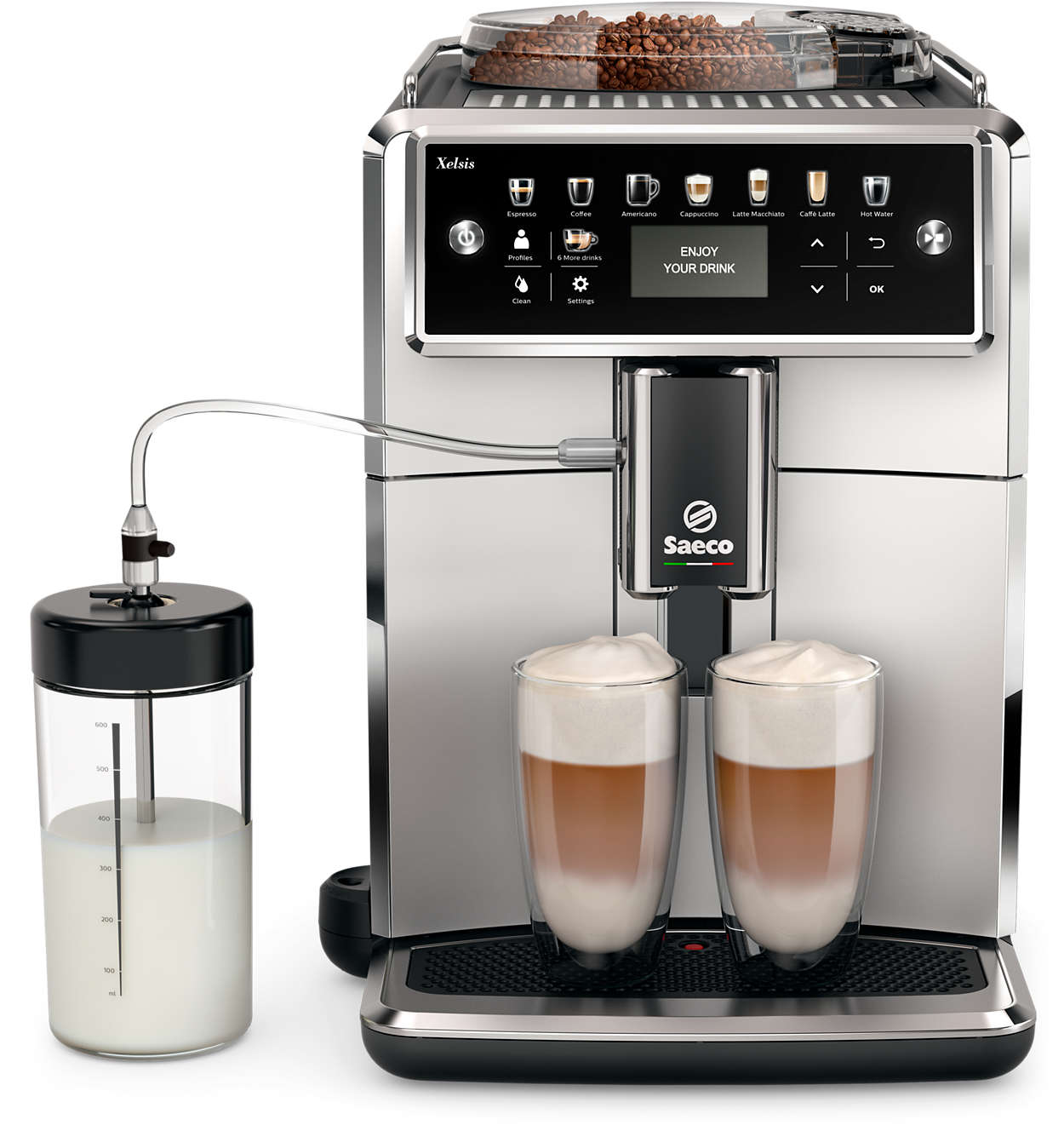 Fedezze fel a Saeco kávéfőző világát.
