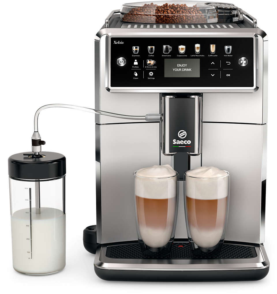 Scopri il mondo delle macchine da caffè Saeco.