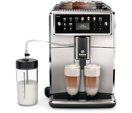 Iepazīstiet Saeco kafijas automātu pasauli!