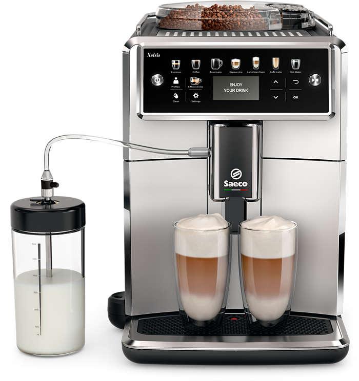 Výnimočná káva jednoducho pripravená podľa vašej chuti