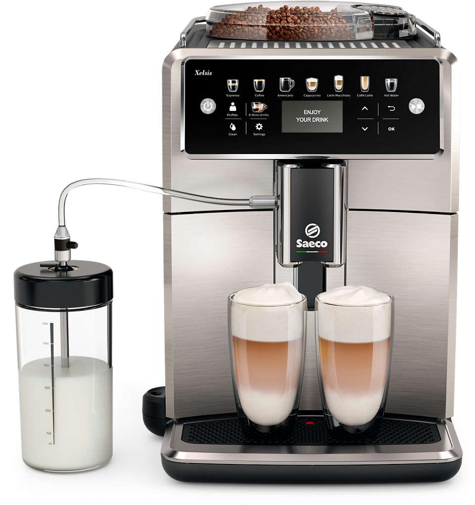 La machine espresso Saeco la plus sophistiquée à ce jour