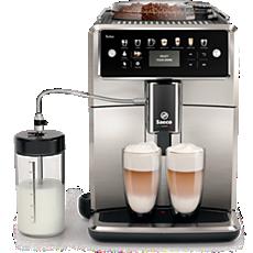 SM7583/00 Saeco Xelsis Machine expresso à café grains avec broyeur