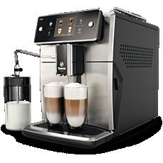 SM7683/00 Saeco Xelsis Machine expresso à café grains avec broyeur