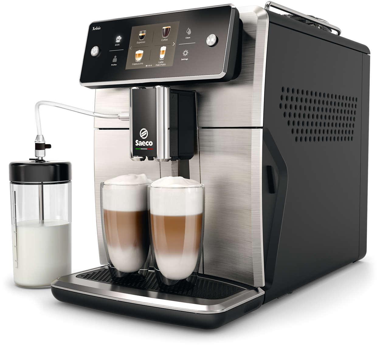 Najnaprednejši espresso kavni aparat Saeco do tega trenutka