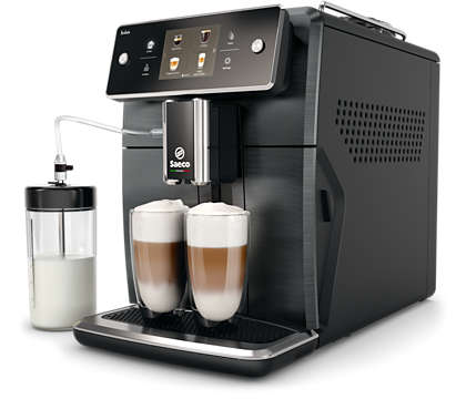 The most advanced Saeco espresso machine yet