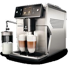 SM7685/00 Saeco Xelsis Machine expresso à café grains avec broyeur