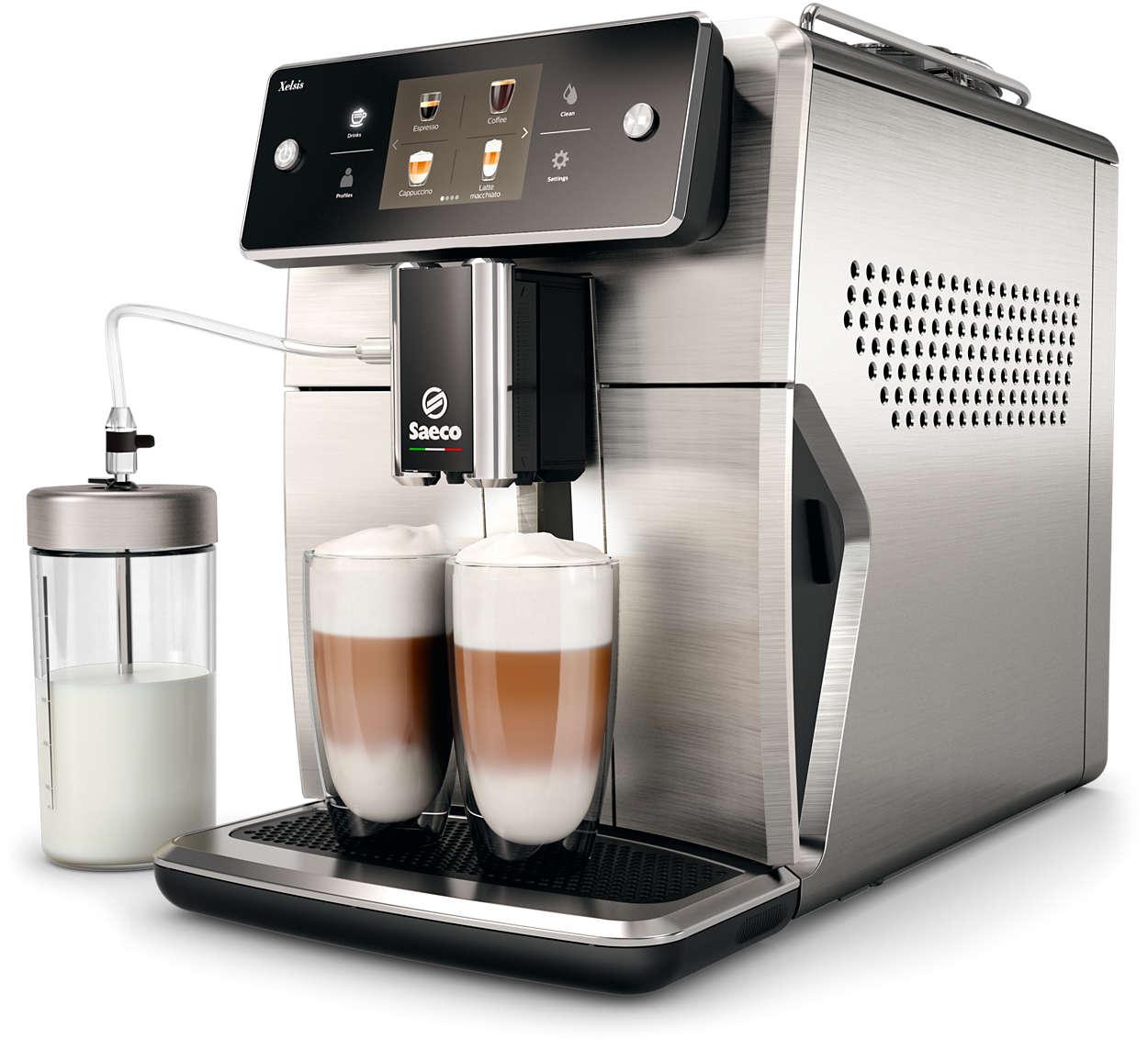 """Kol kas pažangiausias """"Saeco"""" espreso kavos aparatas"""